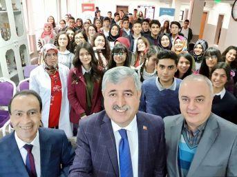 Başkan Polat, Lise Öğrencileriyle Buluştu