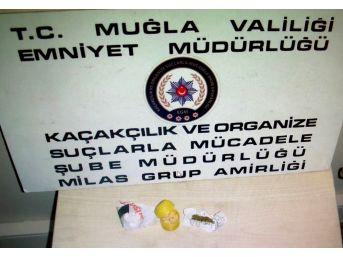 Milas Polisi Uyuşturucu Tacirlerine Göz Açtırmıyor