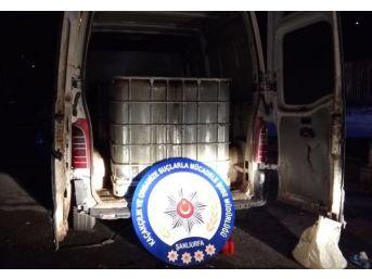 Şanlıurfa'da 9 Bin Litre Kaçak Akaryakıt Ele Geçirildi