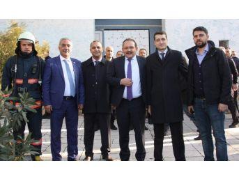Siirt'te Yangın Tatbikatı Gerçekleştirildi