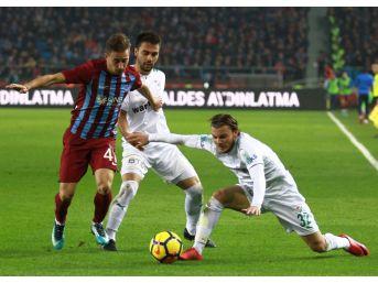 Süper Lig: Trabzonspor: 1 - Bursaspor: (maç Sonucu)