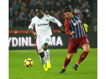 Süper Lig: Trabzonspor:0 - Bursaspor: (ilk Yarı)
