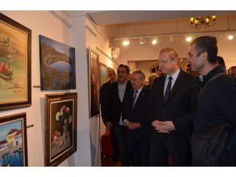 Trabzon Sanatçıları Geleneksel Plastik Sanatları Sergisi Açıldı