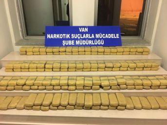 Van'da 81 Kilo Eroin Ele Geçirildi