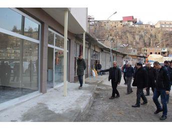 Vali Ustaoğlu, Belediye Çalışmalarını İnceledi