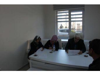 İşkur İl Müdürlüğünde 'girişimcilik Kurs' Mülakatı Yapıldı