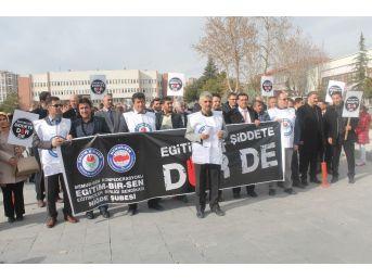 İzmir'de Okul Müdürünün Öldürülmesine Niğde'den Tepki