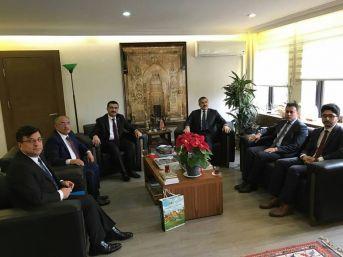 Niğde Belediye Başkanı Özkan'dan Toki Başkanı'na Ziyaret