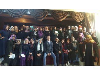 Sason'da Lise Öğrencilerine Hedef Belirleme Konferansı Verildi