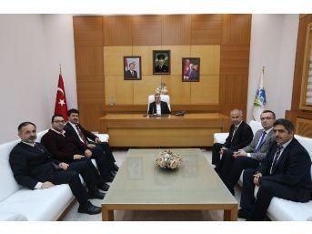 Başkan Toçoğlu Sagif Paydaşlarını Ağırladı