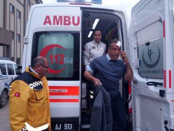 Kahta İlçesinde Trafik Kazası: 4 Yaralı