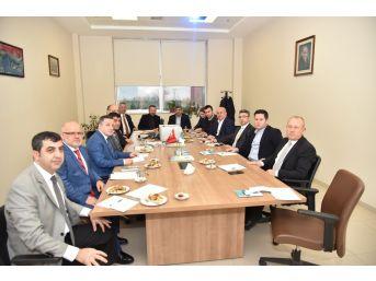 Sanayi Sitesinde Yanan 3 Fabrika İçin Toplantı Yapıldı