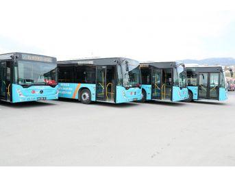 Büyükşehir Belediyesi, 30 Yeni Otobüsü Hizmete Sunuyor