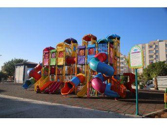 Erdemli'de Çocuk Oyun Parklarının Sayısı Artıyor