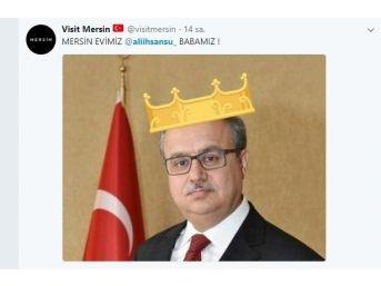 Okulları Tatil Eden Mersin Valisi, Sosyal Medyada