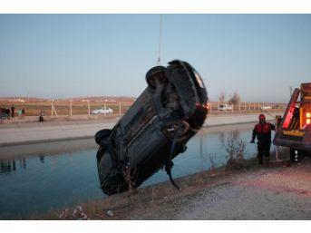 Kanala Düşen Otomobilde Boğulan 2 Kişinin Kimliği Belirlendi