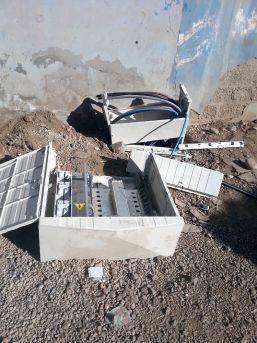 Cizre'de Kaçak Elektriği Önleyen 46 Panoya Hasar Verildi