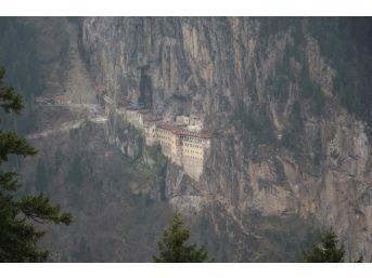 Sümela Manastırı'nın Ve Altındere Vadisi'nin Eşsiz Manzarası İşte Buradan Seyredilecek