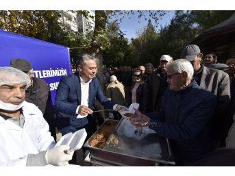 Antalya'da Sarıkamış Şehitleri Anısına Helva Dağıtıldı