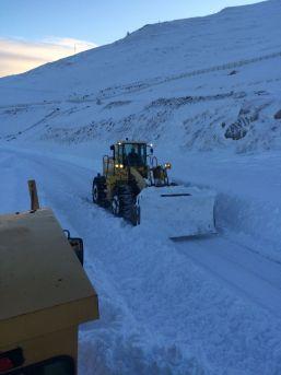 Ardahan'da Zor Şartlarda Karla Mücadele Çalışmaları