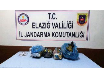 Elazığ'da Uyuşturucu Operasyonu: 2 Şüpheli Tutuklandı