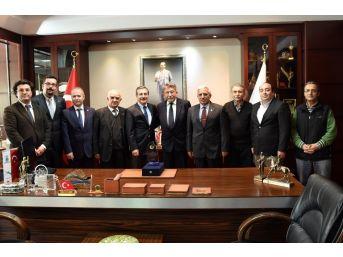 Ziraat Mühendisleri Odası'ndan Başkan Ataç'a Ziyaret