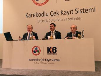 Bakan Tüfenkci, Karekodlu Çek Kayıt Sistemi'ni Tanıttı