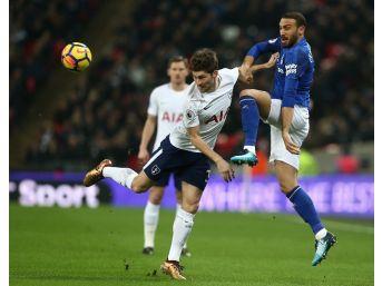 Cenk Tosun, Everton'daki İlk Maçında Göz Doldurdu