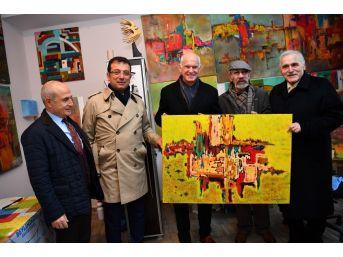 Yunanistan Eski Başbakanı Papandreu, İmamoğlu'nu Ziyaret Etti