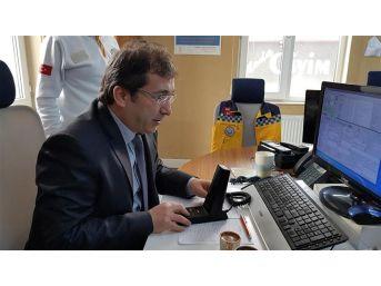 İl Sağlık Müdürü Benli, Anons Yaparak 112 Personeline Teşekkür Etti