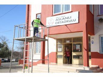 Erdemli Belediyesi Eğitim Kurumlarına Desteği Sürdürüyor