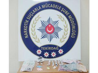 Tekirdağ'da Bir Haftada 42 Kişi Uyuşturucudan Gözaltına Alındı