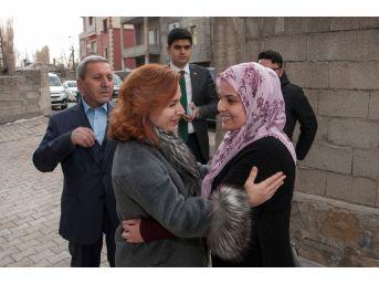Sevcan Zorluoğlu, Şehit Ailelerine Yönelik Ev Ziyaretleri Devam Ediyor