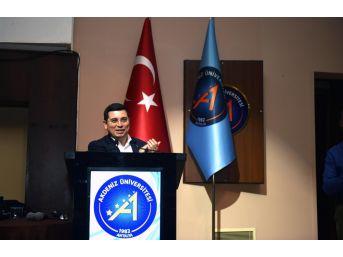 Tütüncü, Tazeleme Üniversitesinde Derse Katıldı