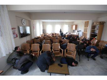 Efeler Belediyesi Personeline Yangın Ve Deprem Tatbikatı