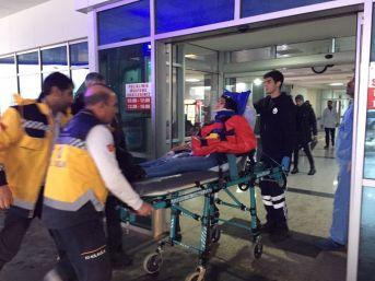 Muş'taki Feci Kazada Yaralanan Bazı Vatandaşlar Bingöl'e Getirildi