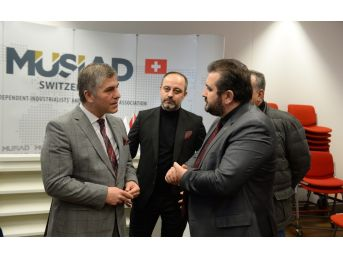 Bursa İle İsviçre Ticaret Köprüsü Güçleniyor
