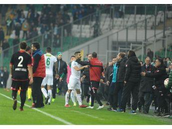 Bursaspor - Gençlerbirliği Maçı Sonrası Ortalık Karıştı