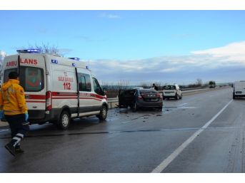 Biga'da Kaza: 2 Yaralı