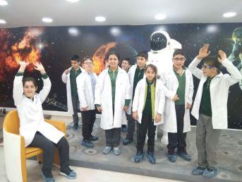 Özel Öğrenciler Bilim İle Tanışıyor