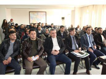 Karacadağ Kalkınma Ajansı Silvan'da Seminer Düzenledi