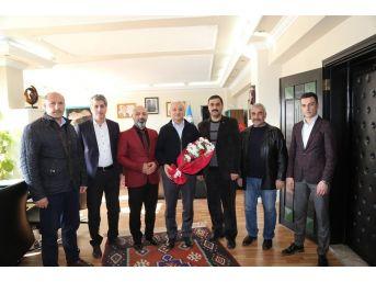 Harun Mutlu'dan Başkan Başsoy'a Ziyaret