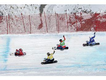 Fıs Snowboard Sbx Dünya Kupası Heyecanı