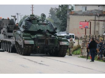 Afrin'i Pkk Avcısı Tanklar Vuracak