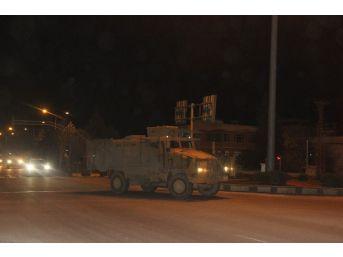 Afrin'e En Büyük Askeri Sevkiyat