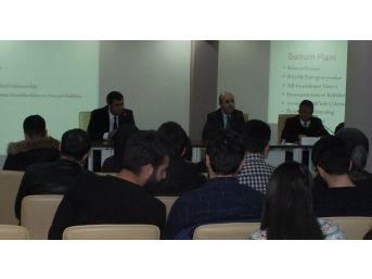 Çalışma Hayatında Sosyal Diyalog Projesi Kapsamında 'işveren Çalıştayı' Yapıldı