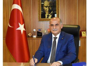 Başkan Erkoç'dan 'k' Türü Yetki Belgesi Açıklaması