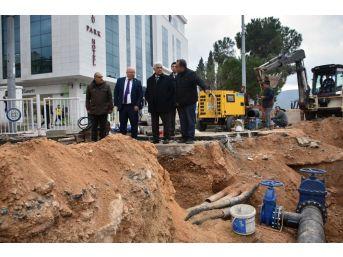 Başkan Gürün, İçme Suyu Çalışmalarını İnceledi