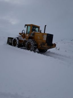 İpekyolu İlçesinde Karla Mücadele