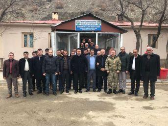 Kaymakam Özcan'dan Fen İşleri Şefliğine Ziyaret